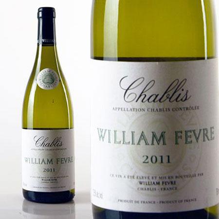 """WILLIAM FEVRE """"Chablis"""" 2011"""